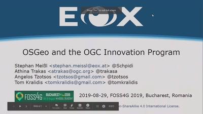 OSGeo and the OGC Innovation Program