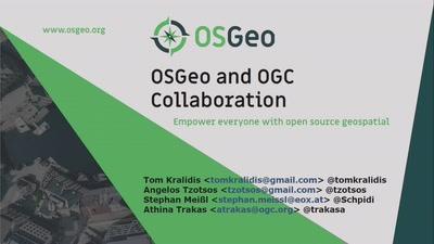 OGC standards development and the role of OSGeo
