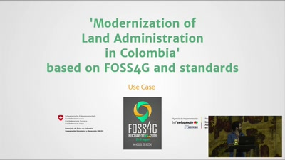 Modernization of land administration in Colombia based on FOSS4G and standards