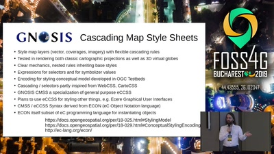 GNOSIS Cartographic Map Style Sheets (CMSS) - an elegant and powerful styling language for both classic and 3D cartography