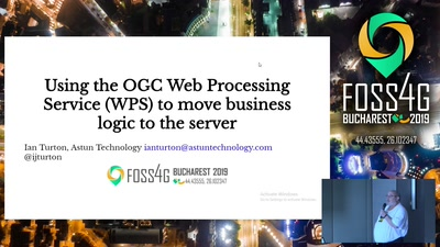 Using the OGC Web Processing Service (WPS) to move business logic to the server