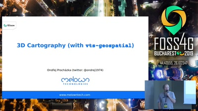 Visual Hierarchies in 3D Cartography with vts-geospatial