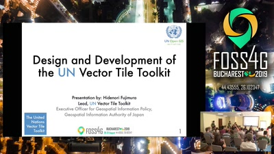Design and development of the UN Vector Tile Toolkit