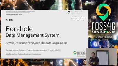 Borehole Data Management System: a web interface for borehole data acquisition