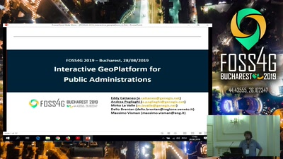 Interactive GeoPlatform for Public Administrations