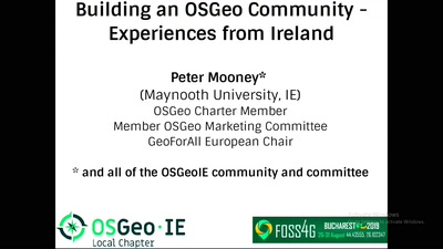 Building an OSGeo Community - Experiences from Ireland