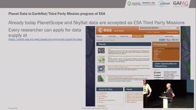 Bridging the gap between Planets Advanced EO Imaging Platform and ESA-CSCDA