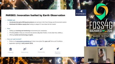 e-shape and PARSEC: Copernicus enabled business opportunities