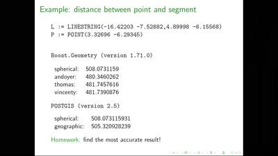 Geodesic algorithms: an experimental study