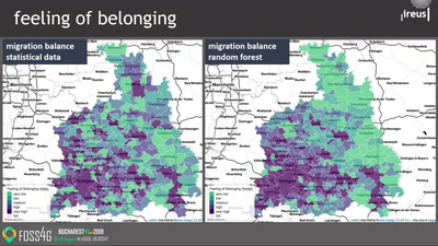 Exploratory study of urban resilience in the region of Stuttgart based on OpenStreetMap and literature resilience indicators