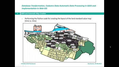 Database Transformation, Cadastre Automatic Data Processing in QGIS and Implementation in Web GIS