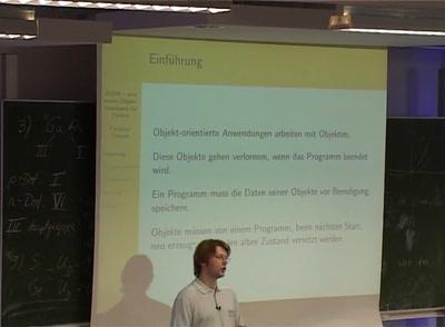 ZODB - eine native Objektdatenbank für Python