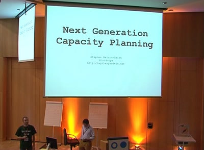 Next generation capacity planning
