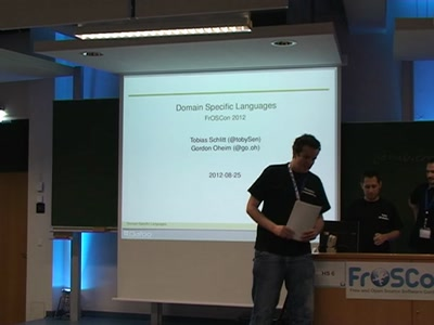 Domain Specifc Languages