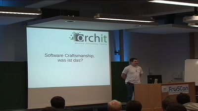 Software Craftsmanship, was ist das?