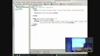 WebODF - Anzeigen und Bearbeiten von Dokumenten in eigenen Web-Projekten