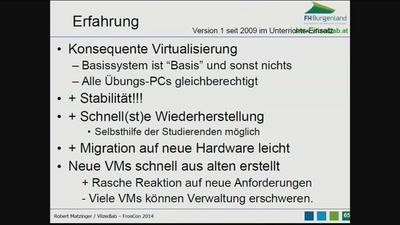 VlizedLab - Eine Open Source-Virtualisierungslösung für PC-Räume