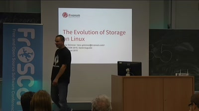The evolution of storage on Linux
