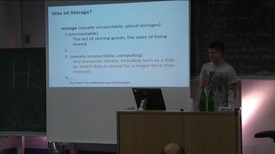 Überblick des Linux Storage Stack