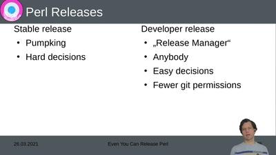Perl Release für Jedermann