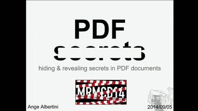 PDF 101 & PDF Secrets