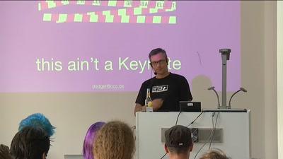 MRMCD 2014: Keynote