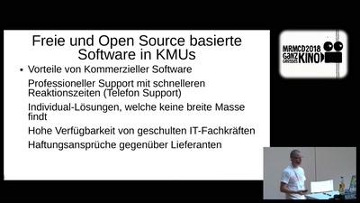 Freie und Open Source basierte Software in KMUs - PROPRIETÄR KANN JEDER
