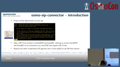Interfacing with VoIP using osmo-sip-connector