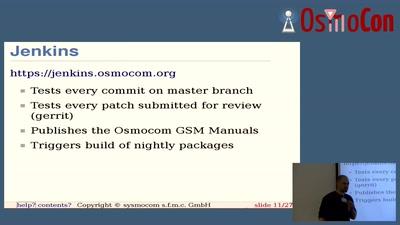 Osmocom Project Infrastructure (redmine, mailman, git, gerrit, jenkins)