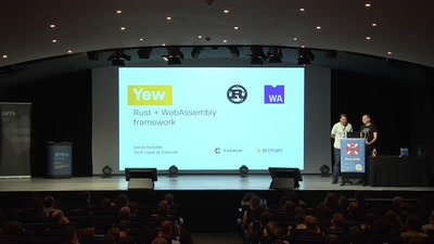 Yew a Rust+WebAssembly framework for client-side web apps