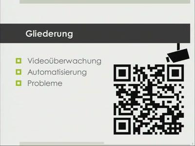 Automatisierte Videoüberwachung