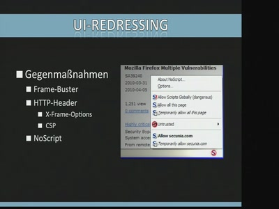 UI Redressing Attacks on Android Devices