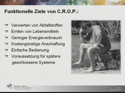 C.R.O.P. – Combined Regenerative Organic-food Production