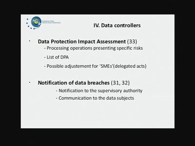 EU Data Protection Reform