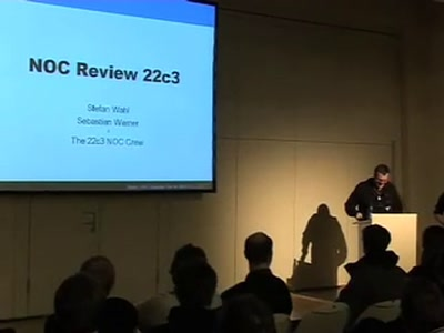 22C3 Network Review