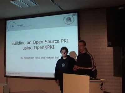 Building an Open Source PKI using OpenXPKI