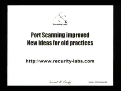 Port Scanning improved