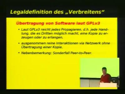 GPLv3 - Praktische Auswirkungen
