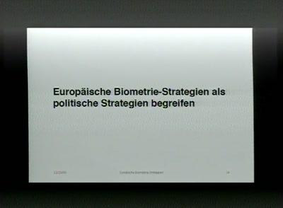 Europäische Biometriestrategien