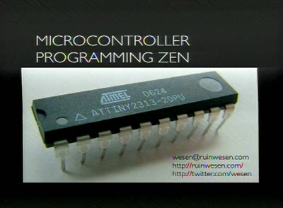 Advanced microcontroller programming