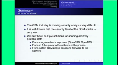 Running your own GSM stack on a phone