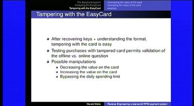 media ccc de - Analyzing RFID Security