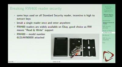 Analyzing a modern cryptographic RFID system