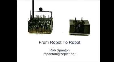 From robot to robot