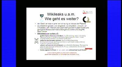 Wikileaks und mehr