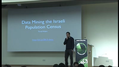 Data Mining the Israeli Census