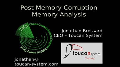 Post Memory Corruption Memory Analysis