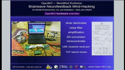 Quantified-Self and OpenBCI Neurofeedback Mind-Hacking