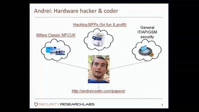 Hacking MFPs