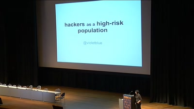 Hackers As A High-Risk Population